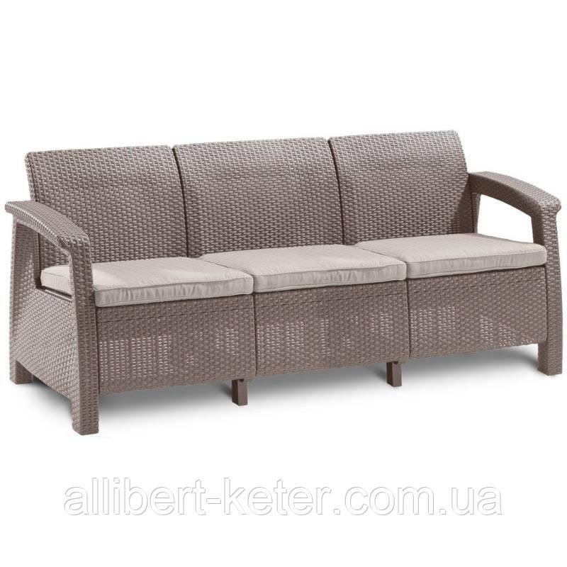 Комплект садовой мебели Curver Corfu Love Seat Max