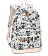 Рюкзак молодежный Черно-Белые Совята Набор 3 в 1, фото 3