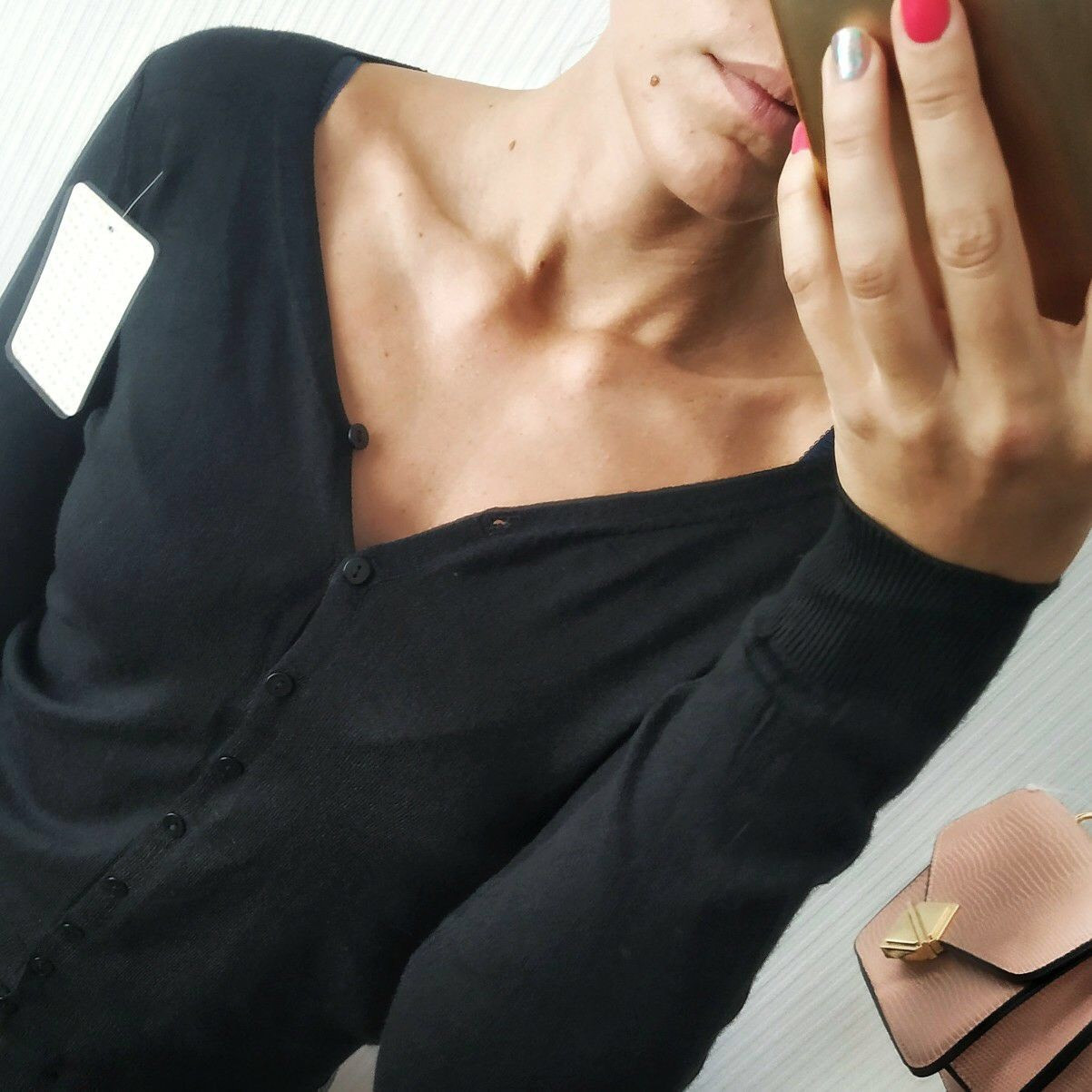 Кофта женская черная
