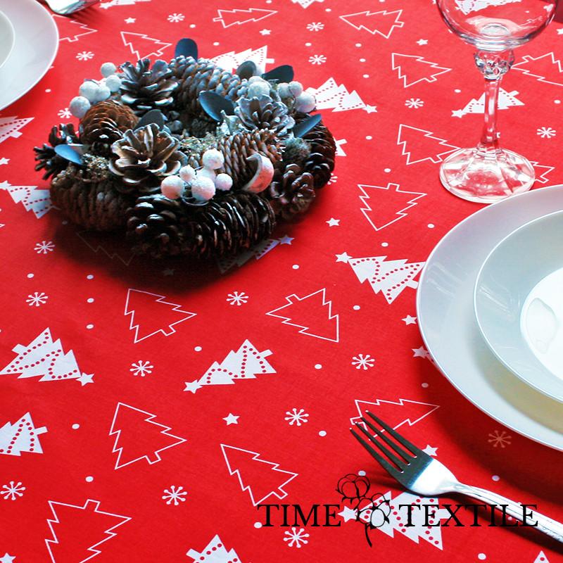 Новогодняя скатерть Time Textile Christmas Tree