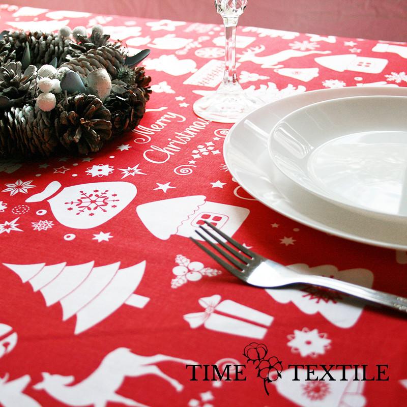 Новогодняя скатерть Time Textile Christmas Story