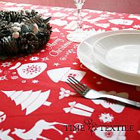 Новогодняя скатерть Time Textile Christmas Story, фото 1