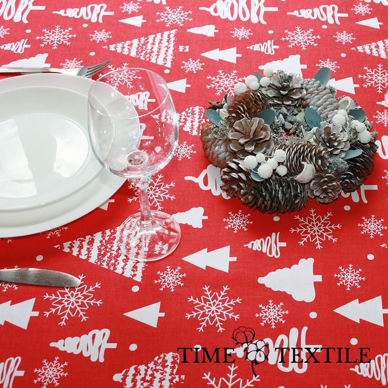 Новогодняя скатерть Time Textile Christmas Forest