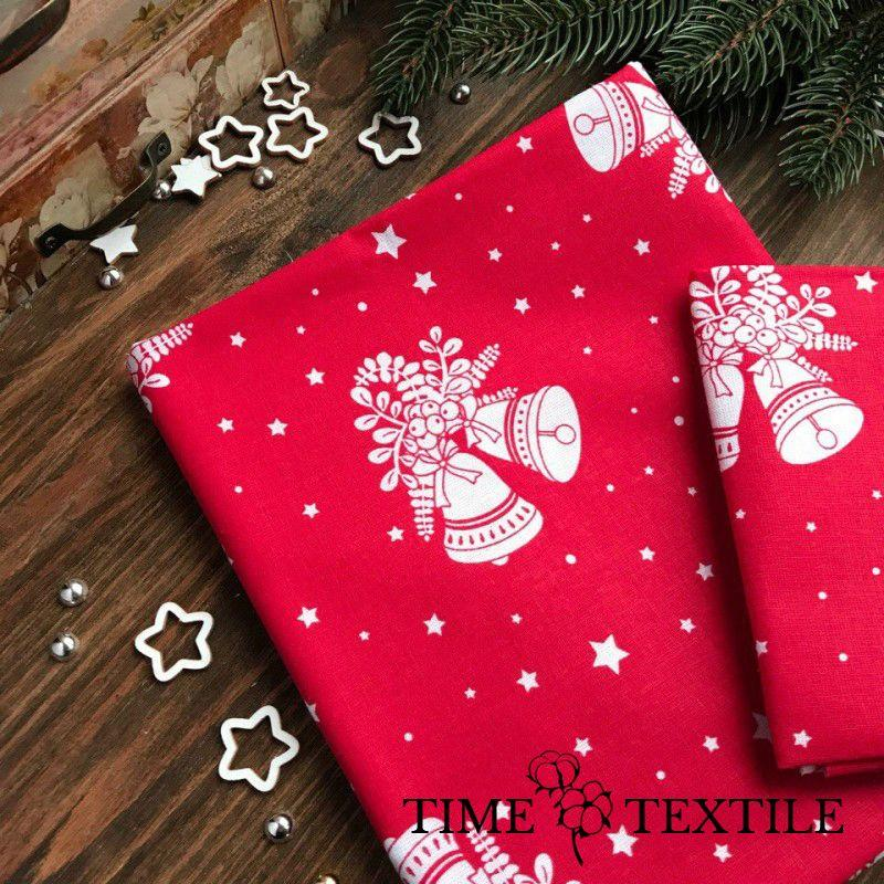 Новогодняя скатерть Time Textile Christmas Bells