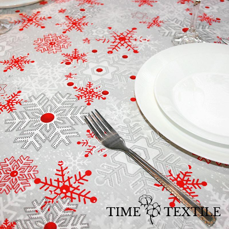 Новогодняя скатерть Time Textile Метелица