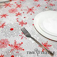 Новогодняя скатерть Time Textile Метелица, фото 1