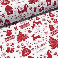 Новогодняя скатерть Time Textile Frozen