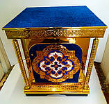 Жертвенник большой с росписью эмалью 90х90х100см, фото 3