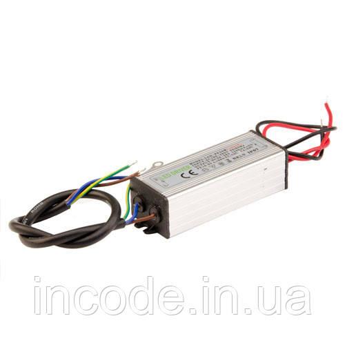 Драйвер для COB матрицы 50Вт 1500мА, IP65