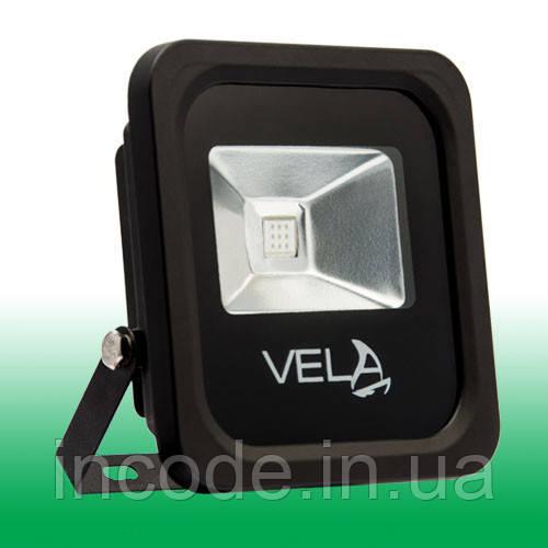 Светодиодный прожектор LED 10Вт 515-530nm (зеленый), IP65