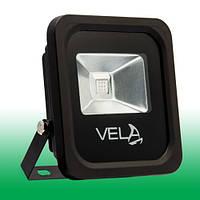 Светодиодный прожектор LED 10Вт 515-530nm (зеленый), IP65, фото 1