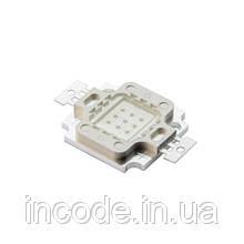 Светодиодная матрица LED 10Вт 515-530nm, зеленый