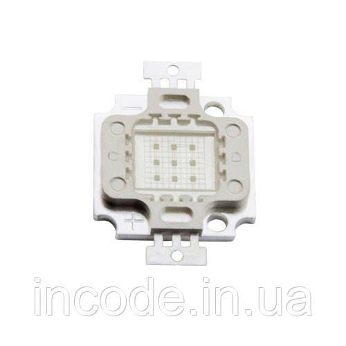 Светодиодная матрица LED 10Вт 450-460nm, синий
