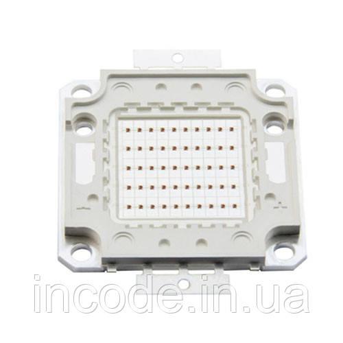 Светодиодная матрица LED 50Вт 620-630nm, красный