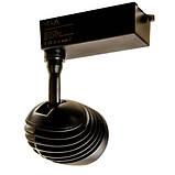 Трековий СВІТЛОДІОДНИЙ світильник VL-COB-3004L 30W 4000К чорний, фото 6