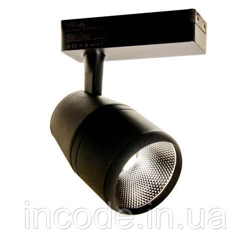 Трековый LED светильник VL-COB-206L 30W 4000К черный