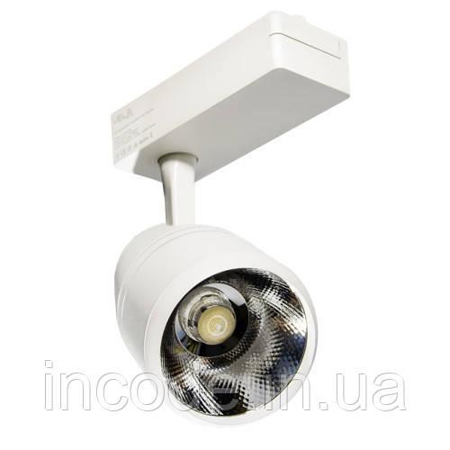 Трековый LED светильник VL-COB-206L 30W 4000К белый