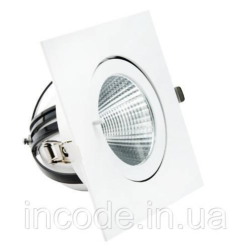 Встраиваемый LED светильник VL-XP02F 30W белый 40°