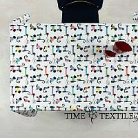 Скатерть Time Textile с акриловой пропиткой Animals, фото 1