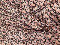 Софт принт Полевые цветы на персике, фото 1