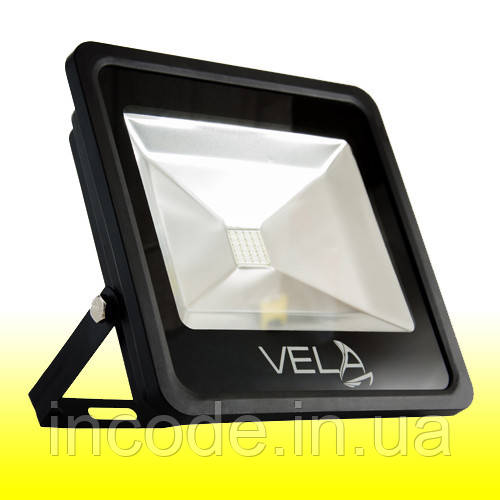 Светодиодный прожектор LED 30Вт 560-600nm (желтый), IP65