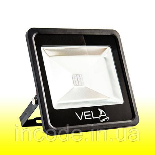 Светодиодный прожектор LED 50Вт 560-600nm (желтый), IP65