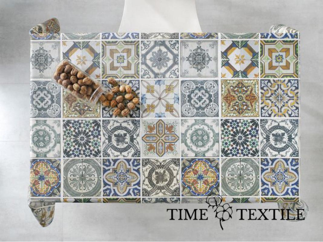 Скатерть с акриловым покрытием Time Textile Mosaico