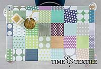 Скатерть с акриловым покрытием Time Textile Patchwork Dots, фото 1