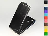 Откидной чехол из натуральной кожи для Huawei Honor 9N