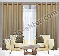 Готовые шторы на люверсах. Ткань: софт. Турция. Цена за пару, фото 1