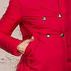 Удлиненное пальто для девушек на зиму сезон 2020 - (модель кт-700), фото 2