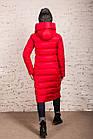 Удлиненное пальто для девушек на зиму сезон 2020 - (модель кт-700), фото 4
