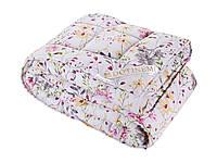 Одеяло SAXON сатин шерсть 145х205 полуторное (Саксон)