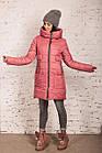 Женская зимняя куртка сезона 2019-20 - (модель кт-694), фото 3