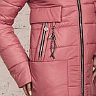 Женская зимняя куртка сезона 2019-20 - (модель кт-694), фото 2