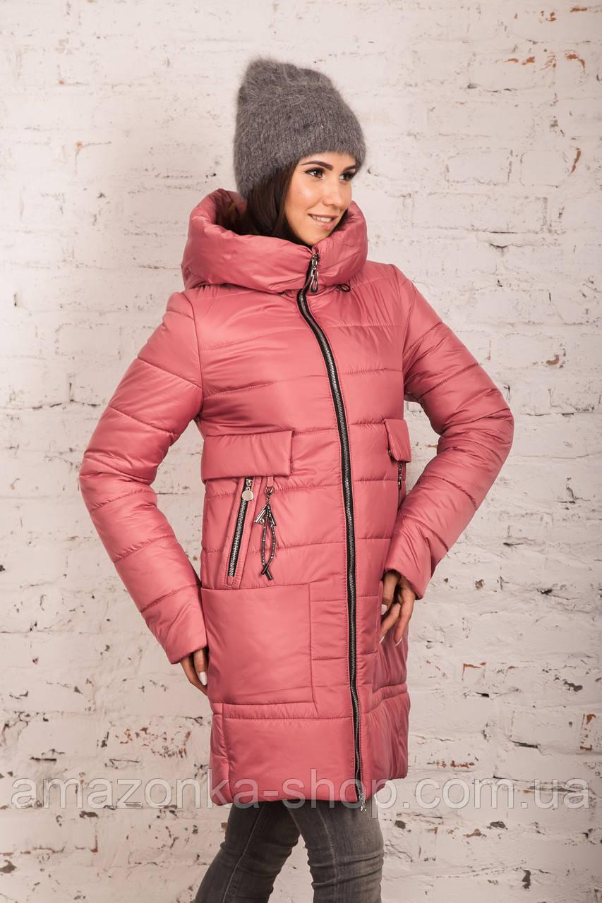 Женская зимняя куртка сезона 2019-20 - (модель кт-694)