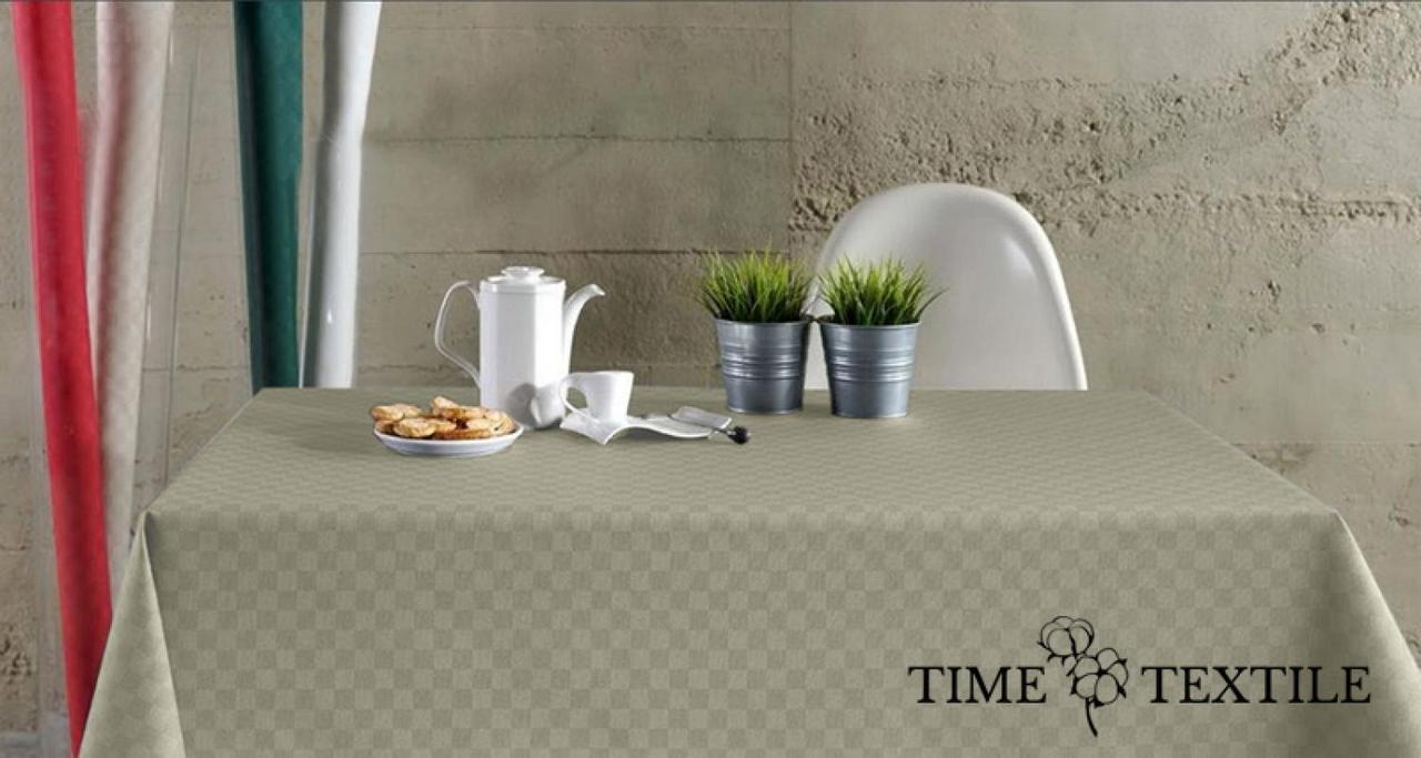 Скатерть однотонная с акриловым покрытием Time Textile Picasso Shell