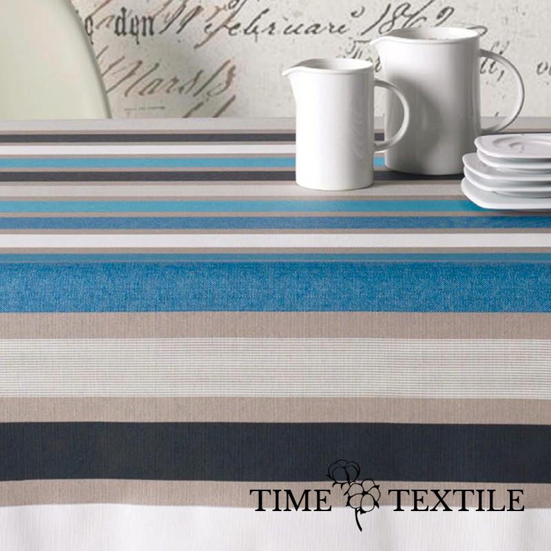 Скатерть в полоску с акриловым покрытием Time Textile Сaravaggio