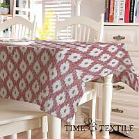 Скатерть с акриловым покрытием Time Textile Barcelo Garnet, фото 1