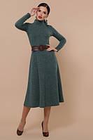 Платье женское теплое осеннее ангора Ава S M L XL