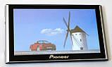 """Автомобільний GPS навігатор 7"""" Pioneer G708 8Gb FM трансмітер (навігатор піонер з картами навітел айгоу), фото 2"""