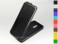 Откидной чехол из натуральной кожи для Huawei Mate 20 Lite