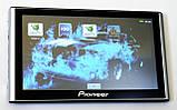 """Автомобільний GPS навігатор 7"""" Pioneer G708 8Gb FM трансмітер (навігатор піонер з картами навітел айгоу), фото 3"""