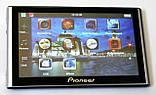 """Автомобільний GPS навігатор 7"""" Pioneer G708 8Gb FM трансмітер (навігатор піонер з картами навітел айгоу), фото 4"""