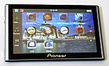 """Автомобильный GPS навигатор 7"""" Pioneer G708 8Gb FM трансмиттер навигатор пионер с картами навител айгоу, фото 4"""