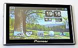 """Автомобільний GPS навігатор 7"""" Pioneer G708 8Gb FM трансмітер (навігатор піонер з картами навітел айгоу), фото 5"""