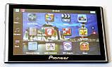 """Автомобільний GPS навігатор 7"""" Pioneer G708 8Gb FM трансмітер (навігатор піонер з картами навітел айгоу), фото 6"""