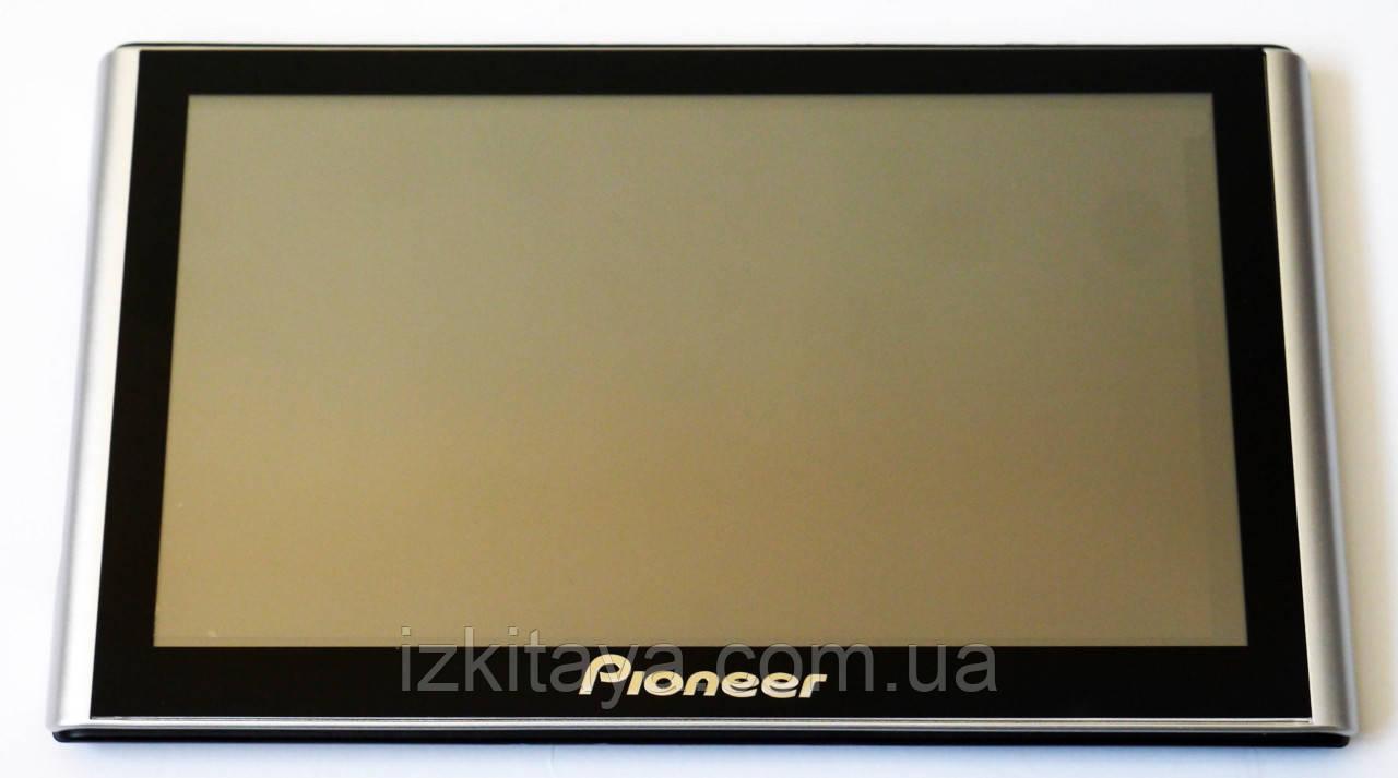 """Автомобільний GPS навігатор 7"""" Pioneer G708 8Gb FM трансмітер (навігатор піонер з картами навітел айгоу)"""
