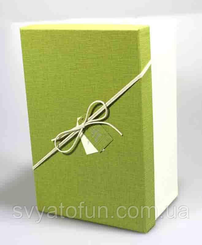 Коробка подарочная салатовая, Y91335-18-2, 3 шт