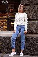 Свитер женский вязанный  в расцветках 51086, фото 1